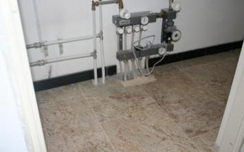 informatie over vloerverwarming - Vloerverwarming, Vloerverwarming na oplevering